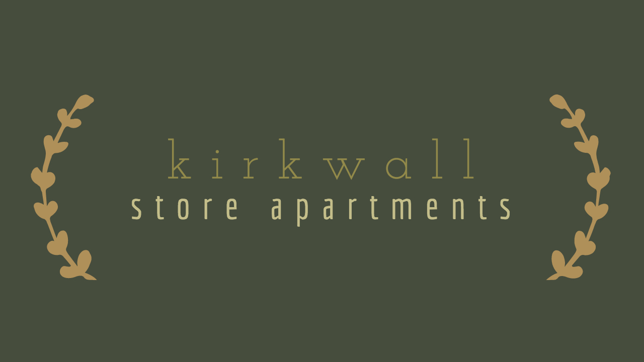 Flat 4 At The Store - Kirkwall Self-Catering Apartment logo